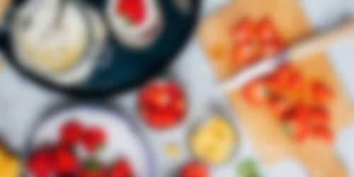 Bereiding_Zomerse aardbeien trifle met aardbeienjam