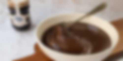 voorbereiding 3 ganache voor chocoladetaart