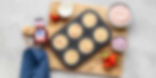 Aardbeien cupcakes bereiding