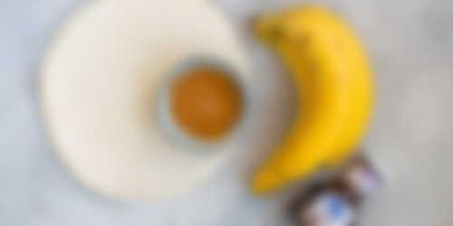 Bananen sushi ingredienten