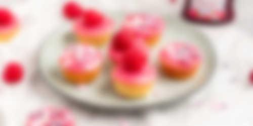 Mini roze koeken_resultaat