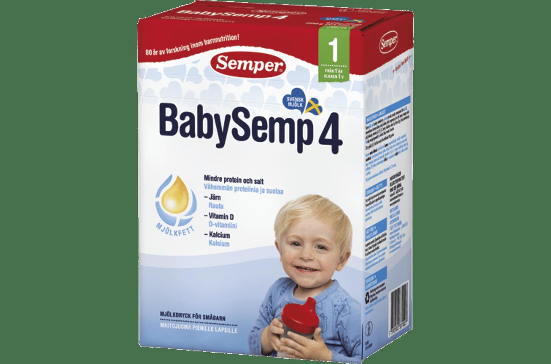 BabySemp 4 1 år 800 g från Semper
