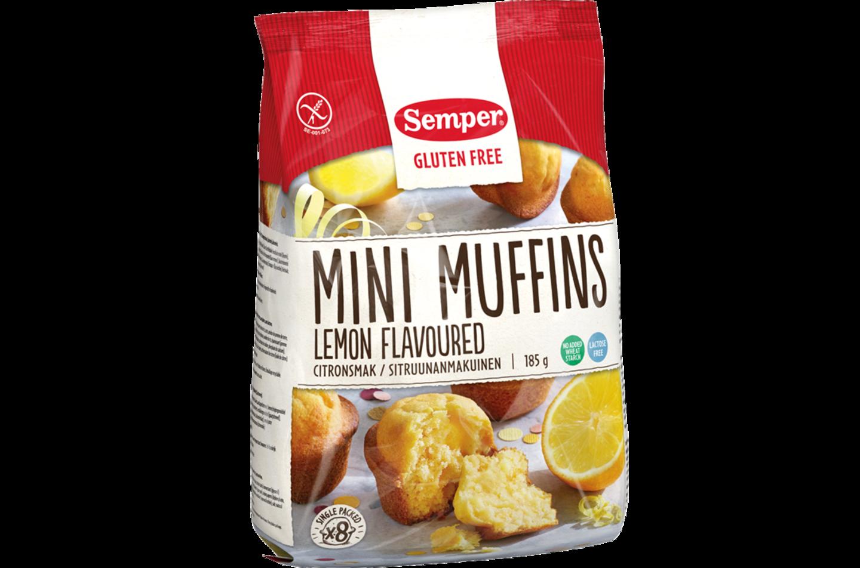 Semper Mini Muffins med smak av citron
