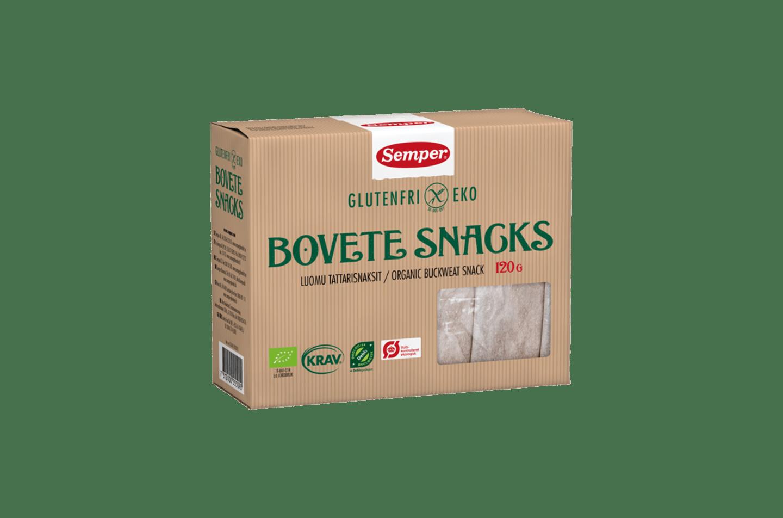 Semper Bovete Snacks, krispigt och glutenfritt snacks