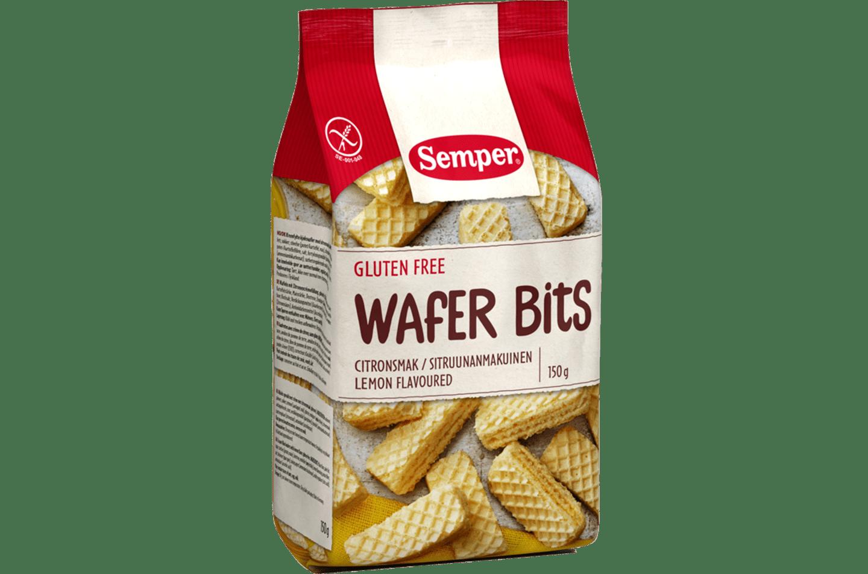 Semper Wafer Bits Citron, citronrån med kräm
