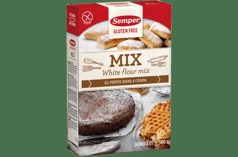 Semper Mix Glutenfri, glutenfri och ljus mjölmix