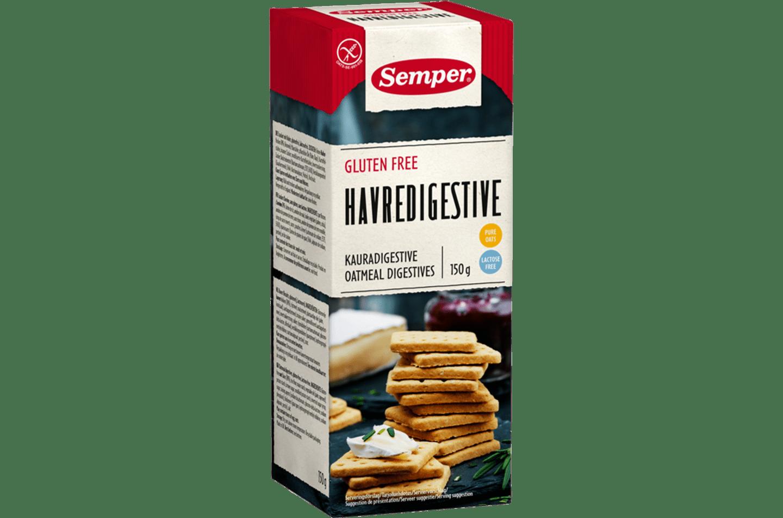 Semper Havredigestive, glutenfria digestive