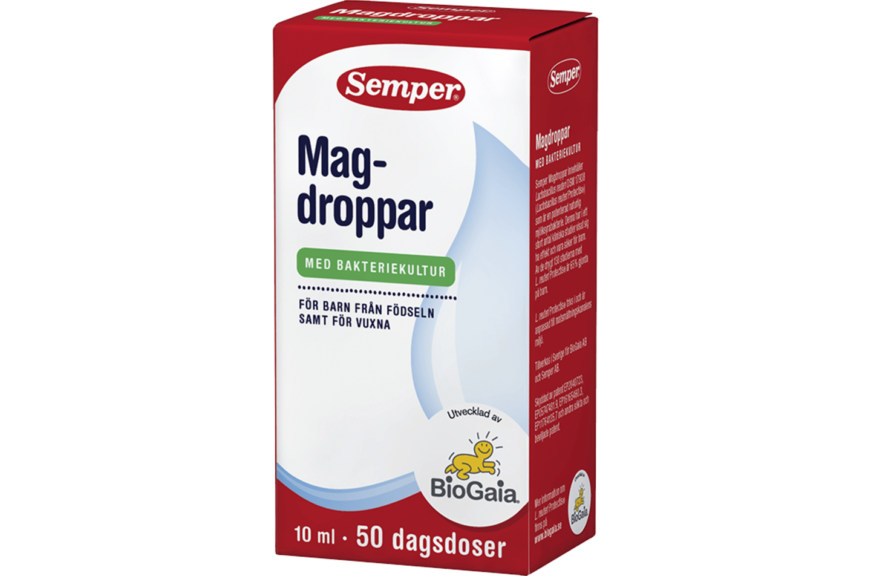 Magdroppar från Semper Barnmat