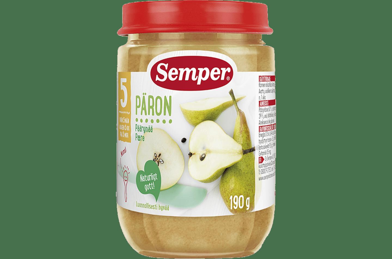 Päron 5M från Semper Barnmat
