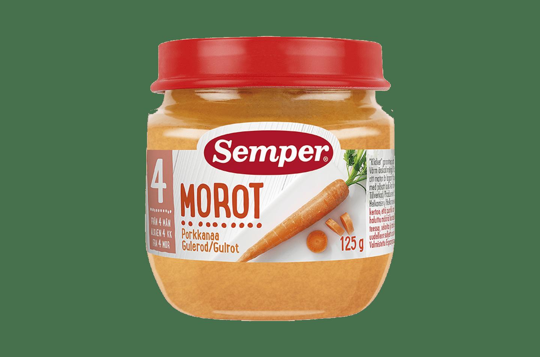Morot 4M från Semper Barnmat