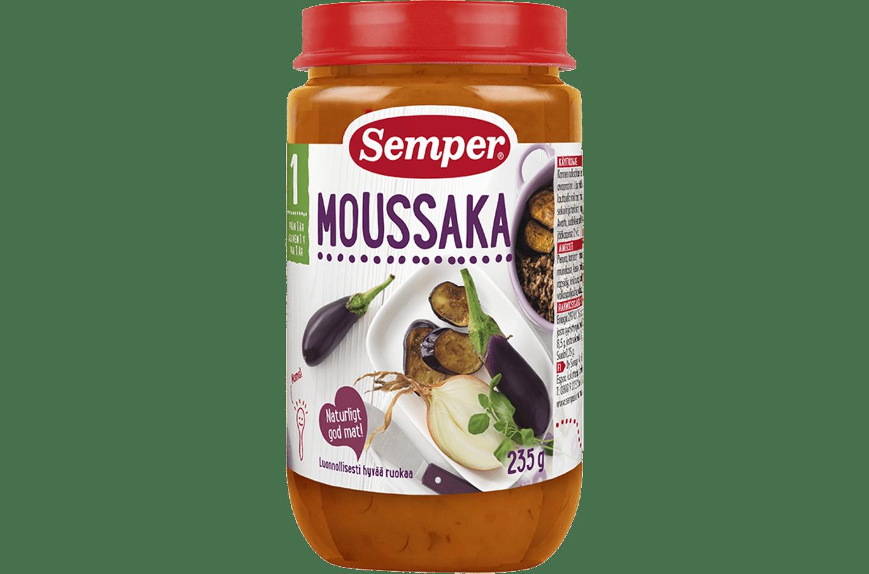 Moussaka från Semper Barnmat