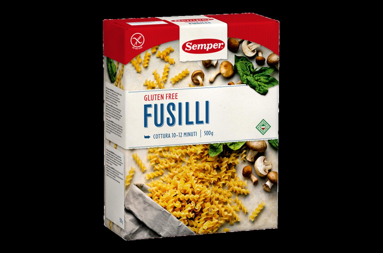 Semper Fusilli, en glutenfri klassisk fusilli