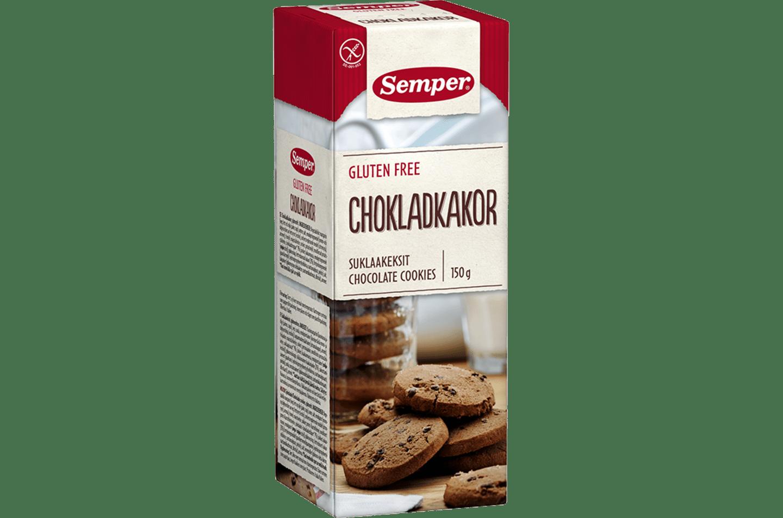 Semper Chokladkakor, glutenfria chokladkakor