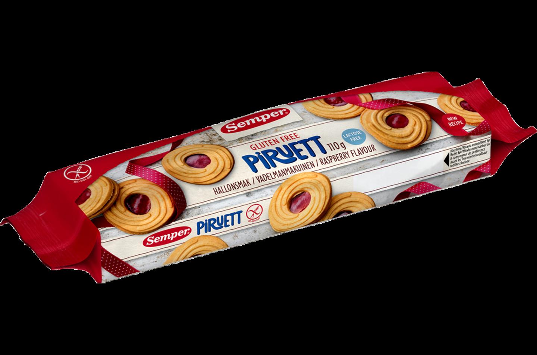 Semper Piruett Hallon, FODMAP-Friendly & glutenfria kakor
