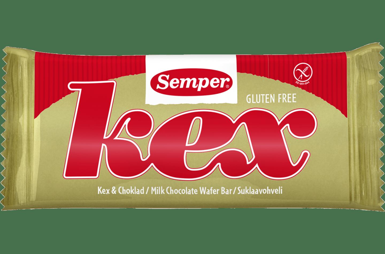 Semper Kex & Choklad, en glutenfri kexchoklad