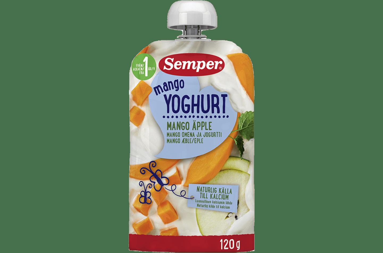 Yoghurt Mango från Semper Barnmat