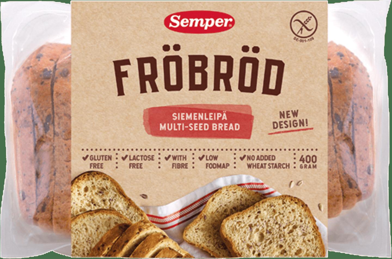 Semper Fröbröd, glutenfritt & mjukt bröd från Semper