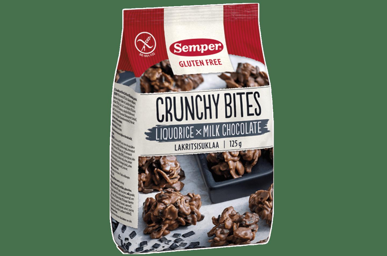 Crunchy bites med lakris