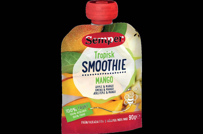 Semper Smoothie Tropisk - med æble & mango