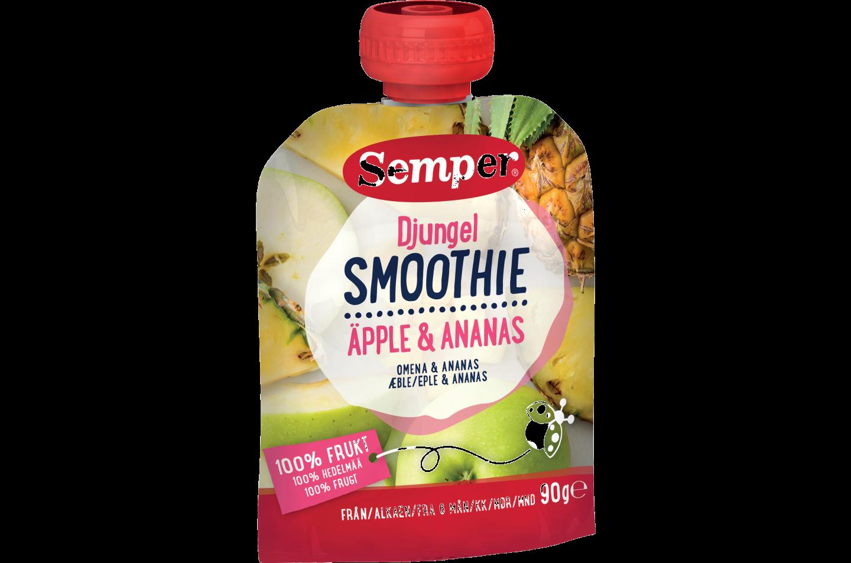 Semper Smoothie Jungle med æble & ananas