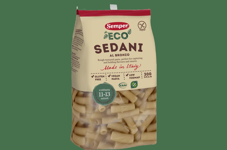 Pasta Sedani från Semper Glutenfritt