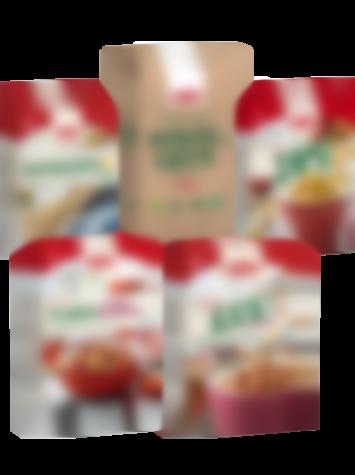 Glutenfria flingor och havregryn från Semper