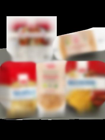 Glutenfri pasta och pizzabottnar från Semper