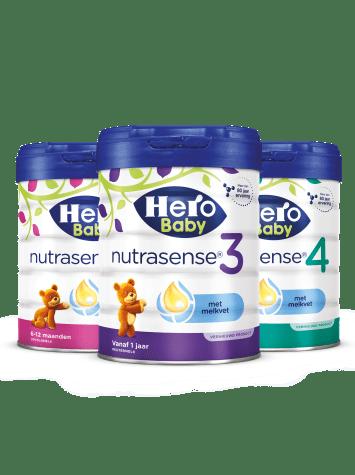 Hero Baby Nutrasense range