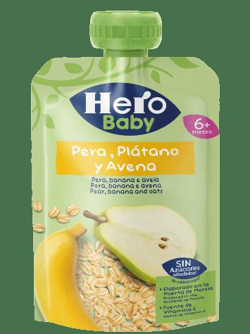 Saqueta Hero Pera banana aveia