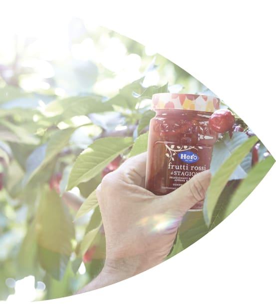 HERO marmellata con Frutta di Stagione