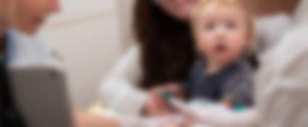 STEP-metoden, Lykke tager prøver med mor