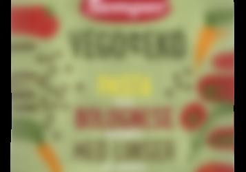 Vego eko klemmepose Pasta bolognese med linser