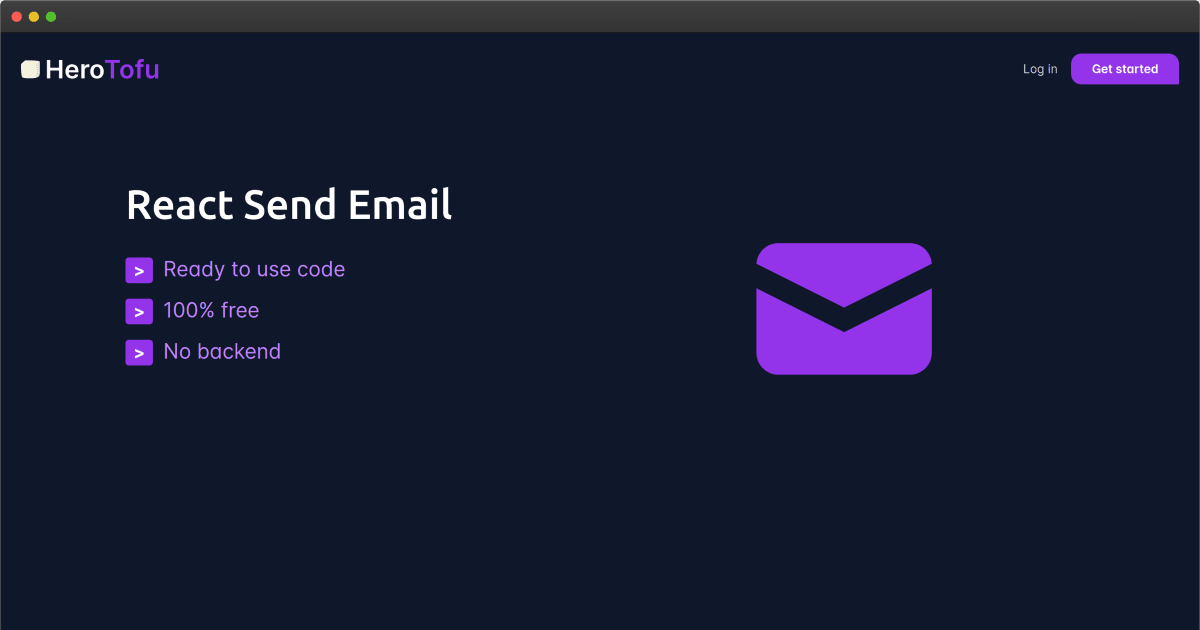 React Send Email