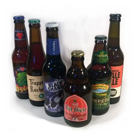 Biere aus dem Herzgebraut Craft Beer Paket im Januar 2016