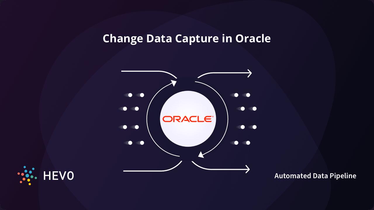 Oracle CDC - Change Data Capture