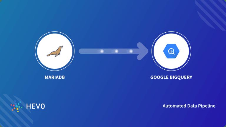 MariaDB to Google BigQuery