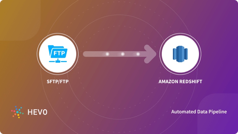 SFTP or FTP to Redshift