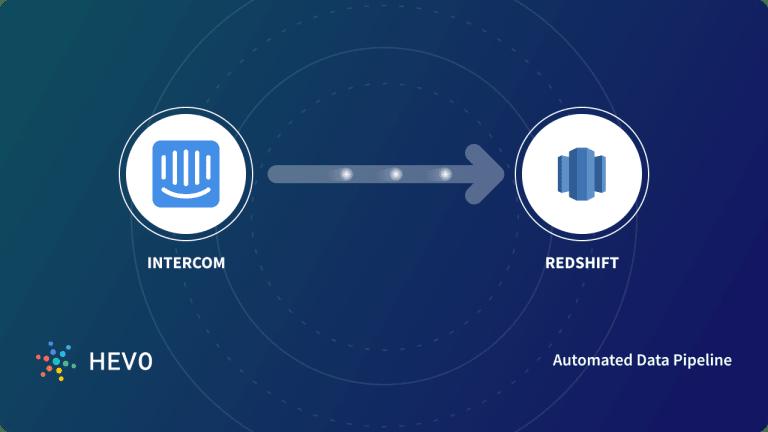 Intercom to Redshift Blog Cover Image