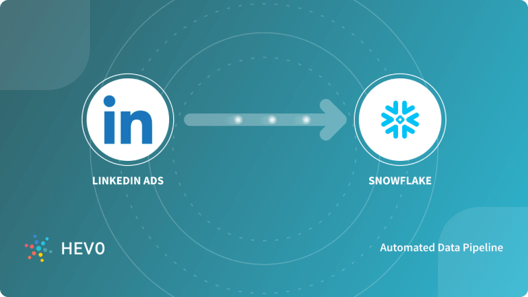 LinkedIn Ads to Snowflake