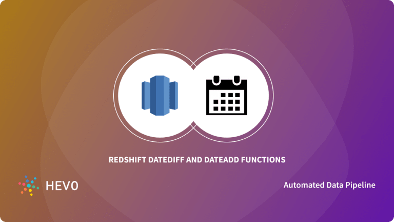 Redshift DateDiff and DateAdd Functions - Blog Cover Image