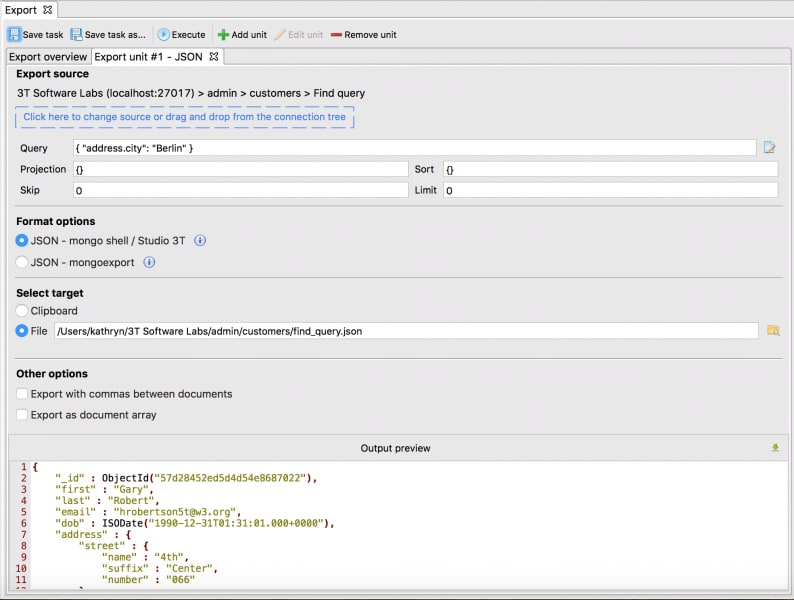 Query Overview.