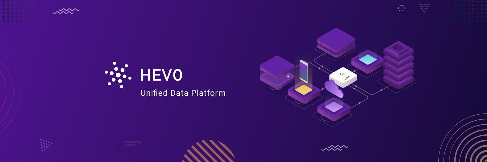 Cloud ETL Tools: Hevo Data Logo.