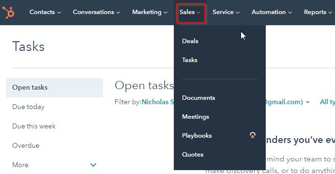 HubSpot Export: Click Sales