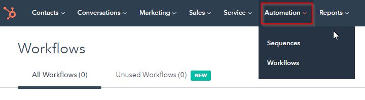 HubSpot Export: Click Automation