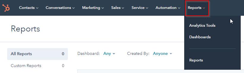 HubSpot Export: Click Reports