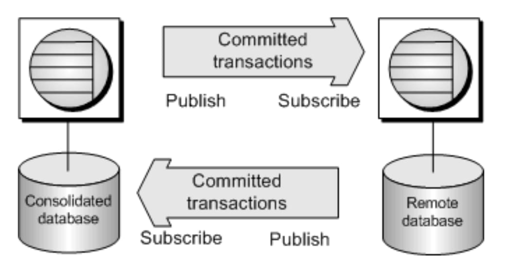 Log-based Data Replication Strategy.