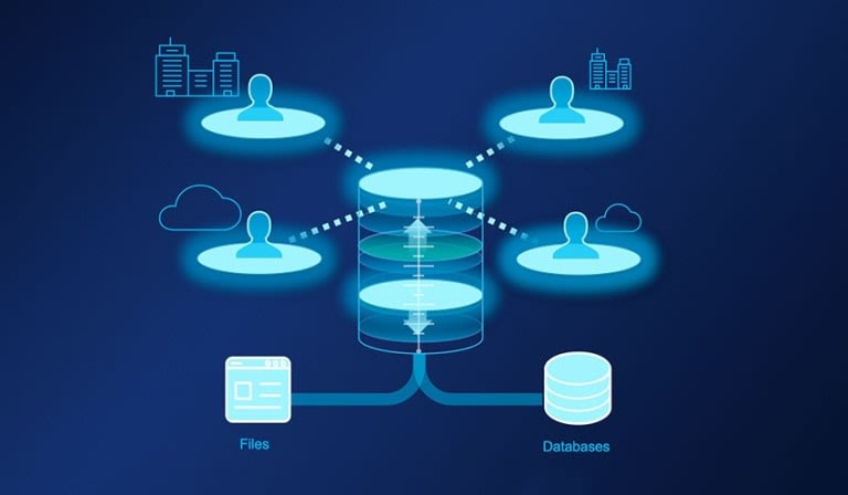 Data Replication Logo.
