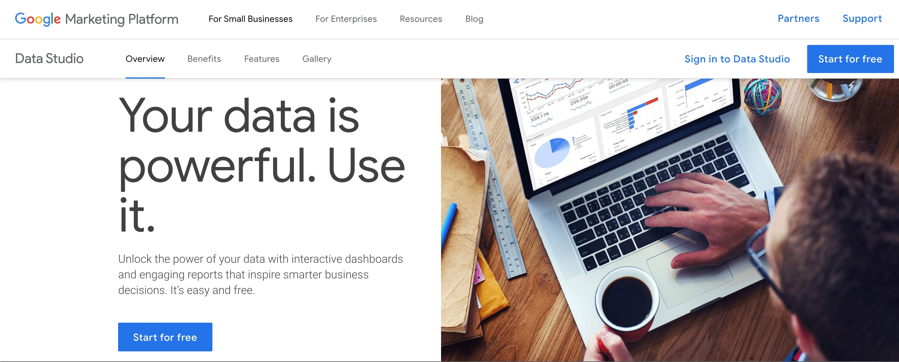 Google Data Studio Pricing