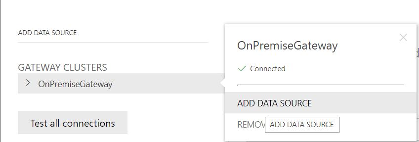 SQL SERVER TO POWER BI: ADD DATA SOURCE