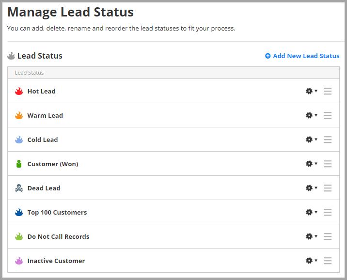 Lead Status
